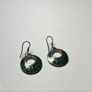 💥3 for $25💥 Vintage Mexican Sterling Silver Turquoise Earrings